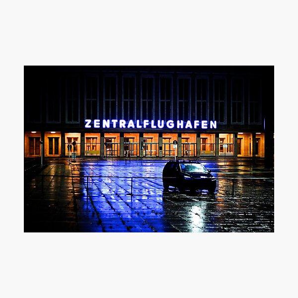Zentralflughafen Photographic Print