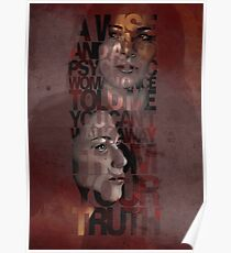 You Can't Walk Away From Your Truth Poster