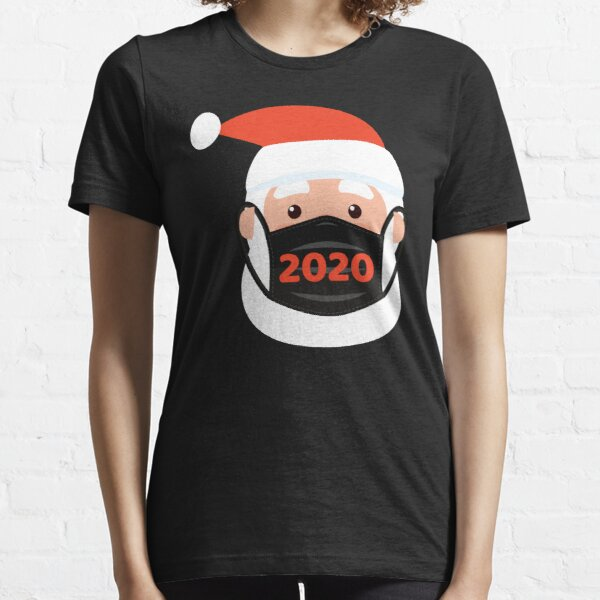 Santa Wearing Mask - Ugly Christmas 2020 Essential T-Shirt