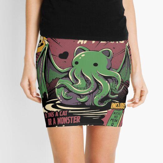 Cathulhu Mini Skirt