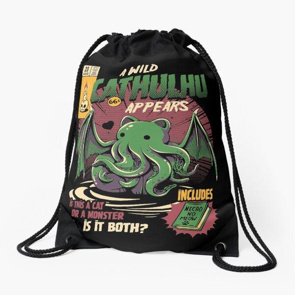 Cathulhu Drawstring Bag