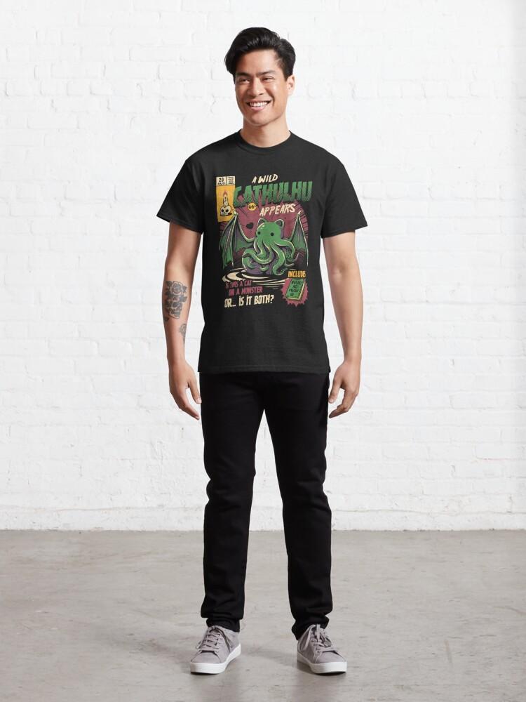 Alternate view of Cathulhu Classic T-Shirt
