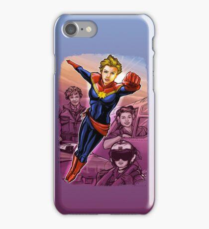 Marvelous Captain iPhone Case/Skin