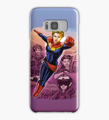 Marvelous Captain Samsung Galaxy Case/Skin