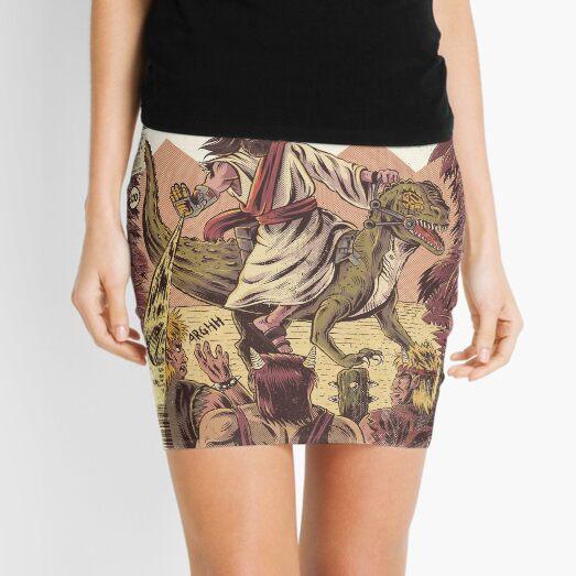 JURASSIC JESUS Mini Skirt