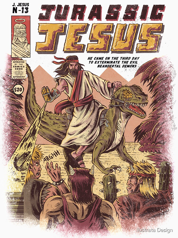 JURASSIC JESUS by ilustrata