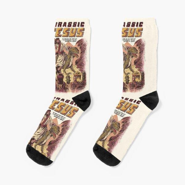 JURASSIC JESUS Socks