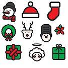 Christmas Icons by zogumus
