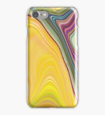 abstract soft colours iPhone Case/Skin