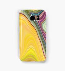 abstract soft colours Samsung Galaxy Case/Skin