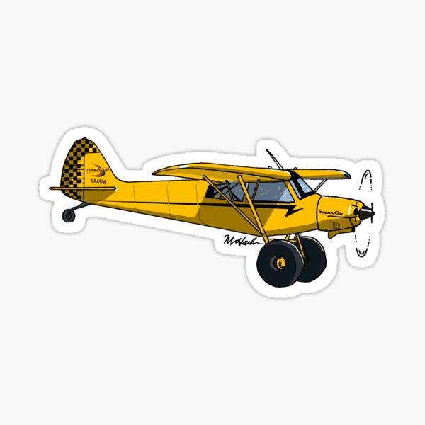 Super Cub N849W Sticker