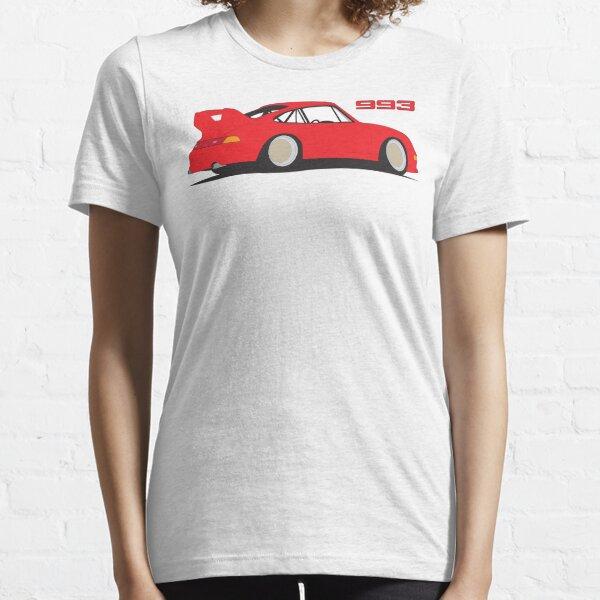 Porsche 993 Graphic - Red Essential T-Shirt