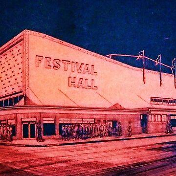 FESTIVAL HALL CIRCA 1940 by kaleidoscopecreation