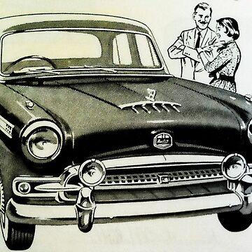 Vintage Car by kaleidoscopecreation