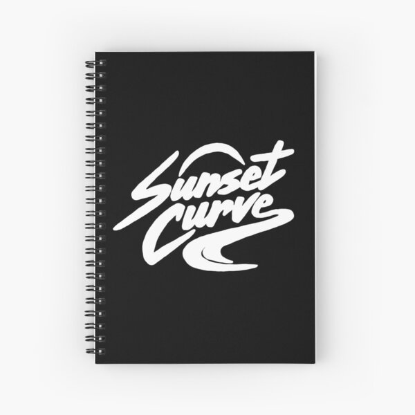 Julie and the Phantoms Sunset Curve Band Logo Spiral Notebook
