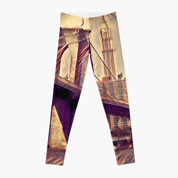 The Brooklyn Bridge Leggings