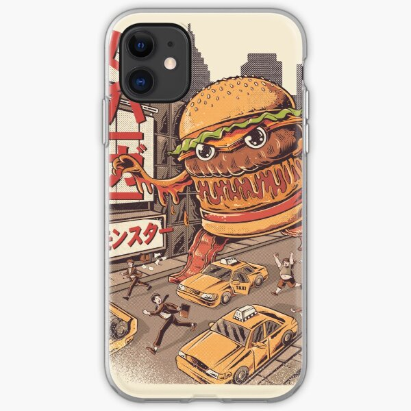 BurgerZilla iPhone Soft Case