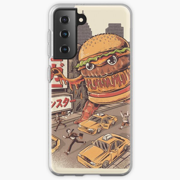 BurgerZilla Samsung Galaxy Soft Case