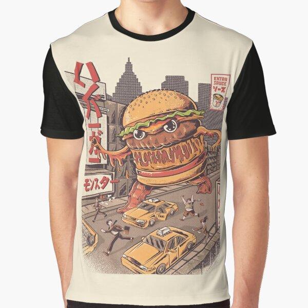 BurgerZilla Graphic T-Shirt