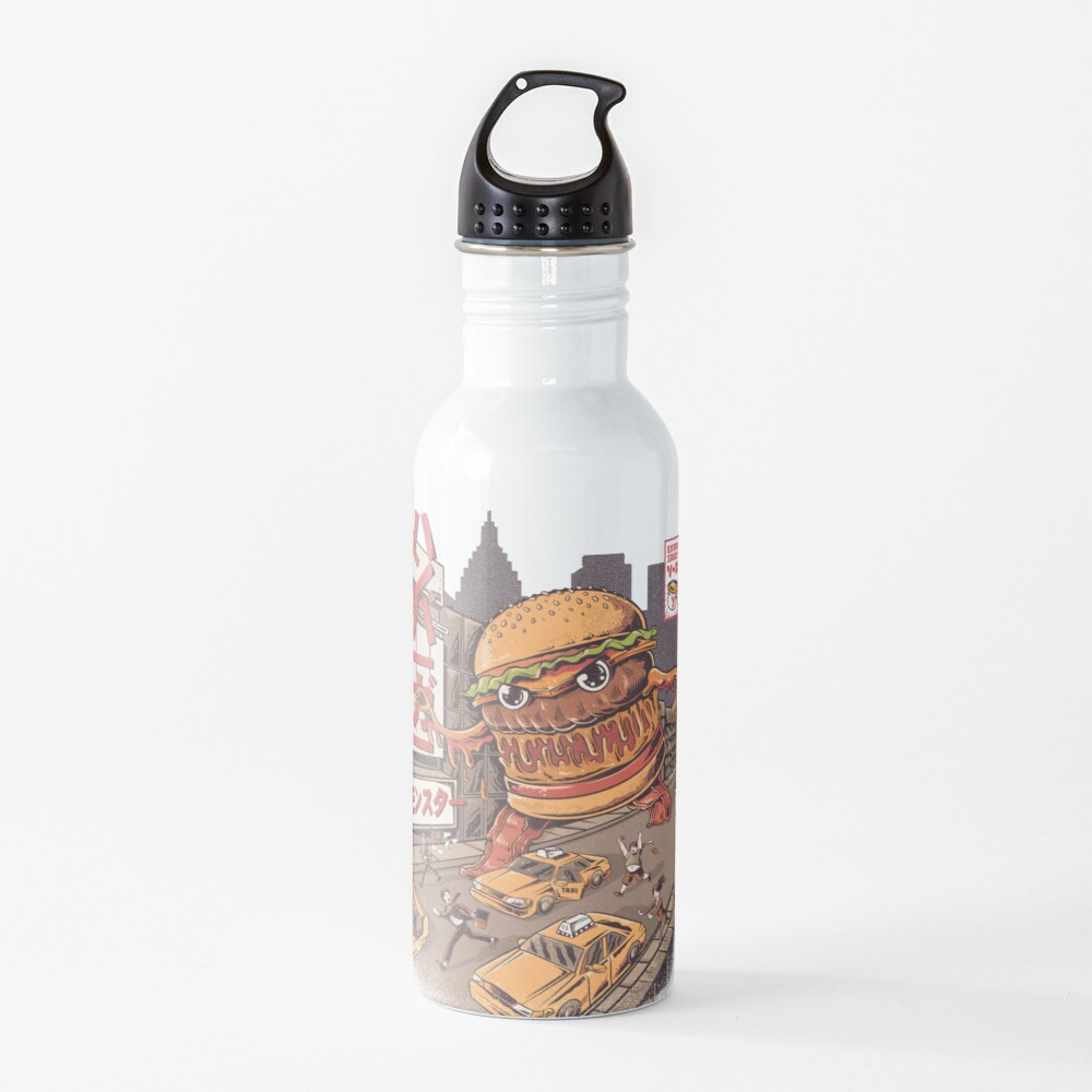 BurgerZilla Water Bottle
