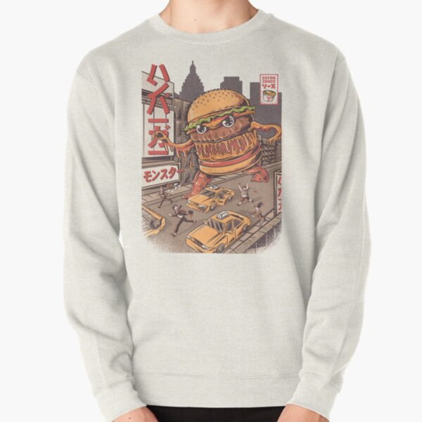 BurgerZilla Pullover Sweatshirt