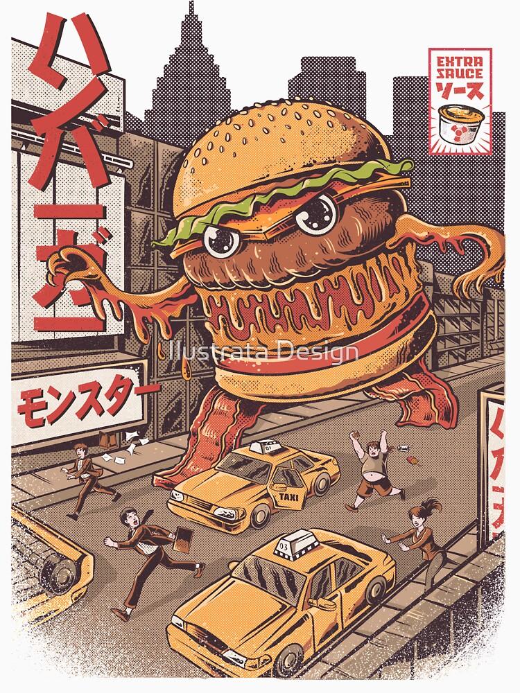 BurgerZilla de ilustrata