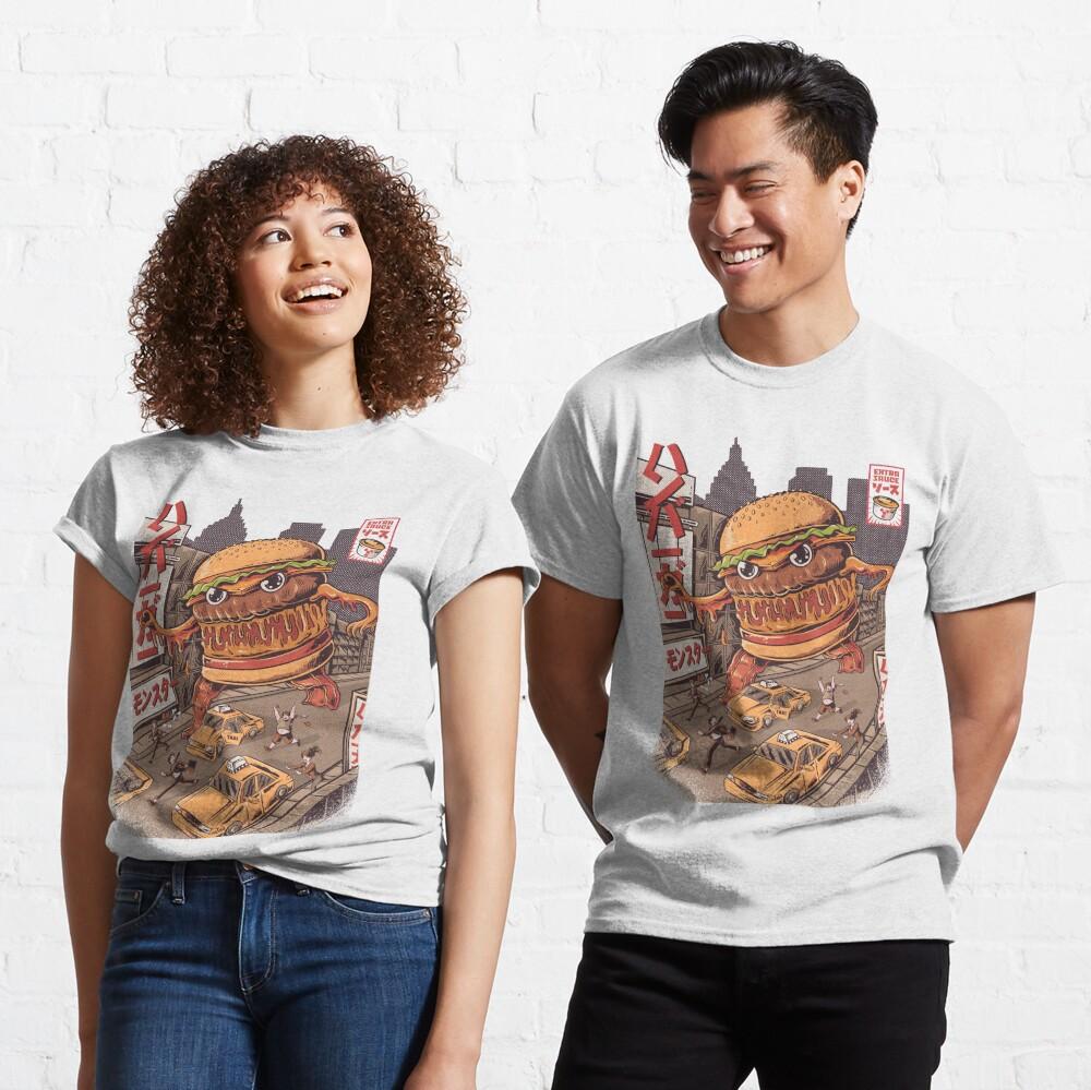 BurgerZilla Camiseta clásica
