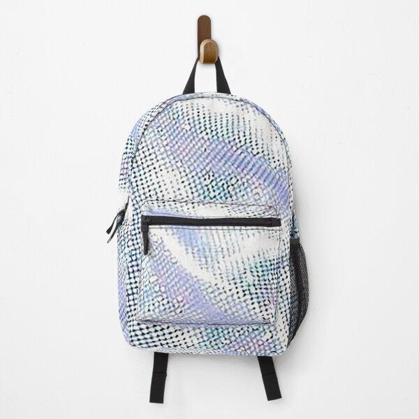 Mermaid Silver Pattern Backpack