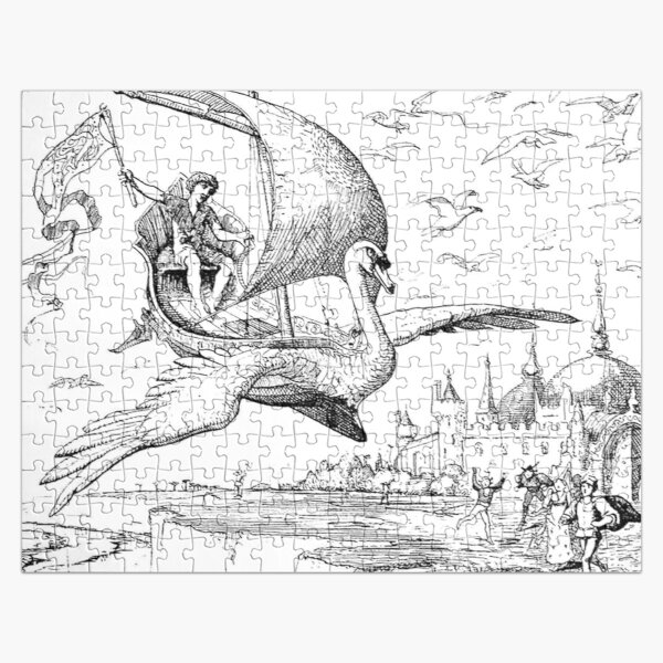 Old Book Illustration Jigsaw Puzzle