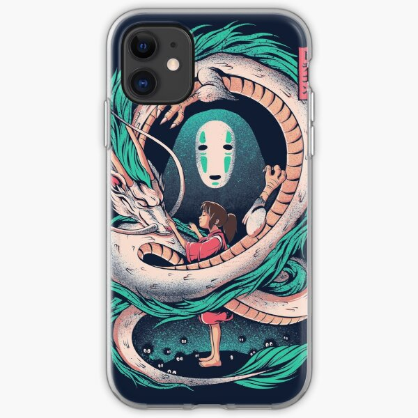 The girl and the dragon iPhone Soft Case