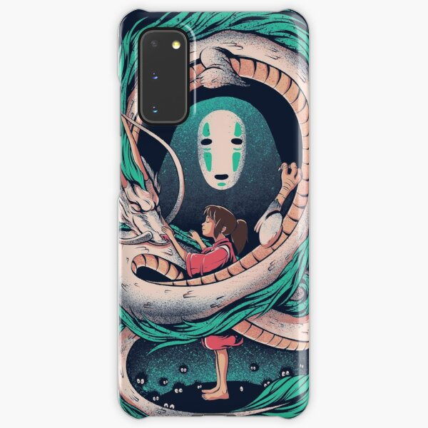 The girl and the dragon Samsung Galaxy Snap Case