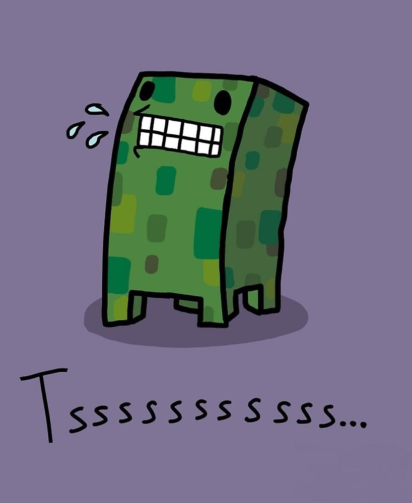 Creeper Simple Minecraft by MonkeyJunkey13