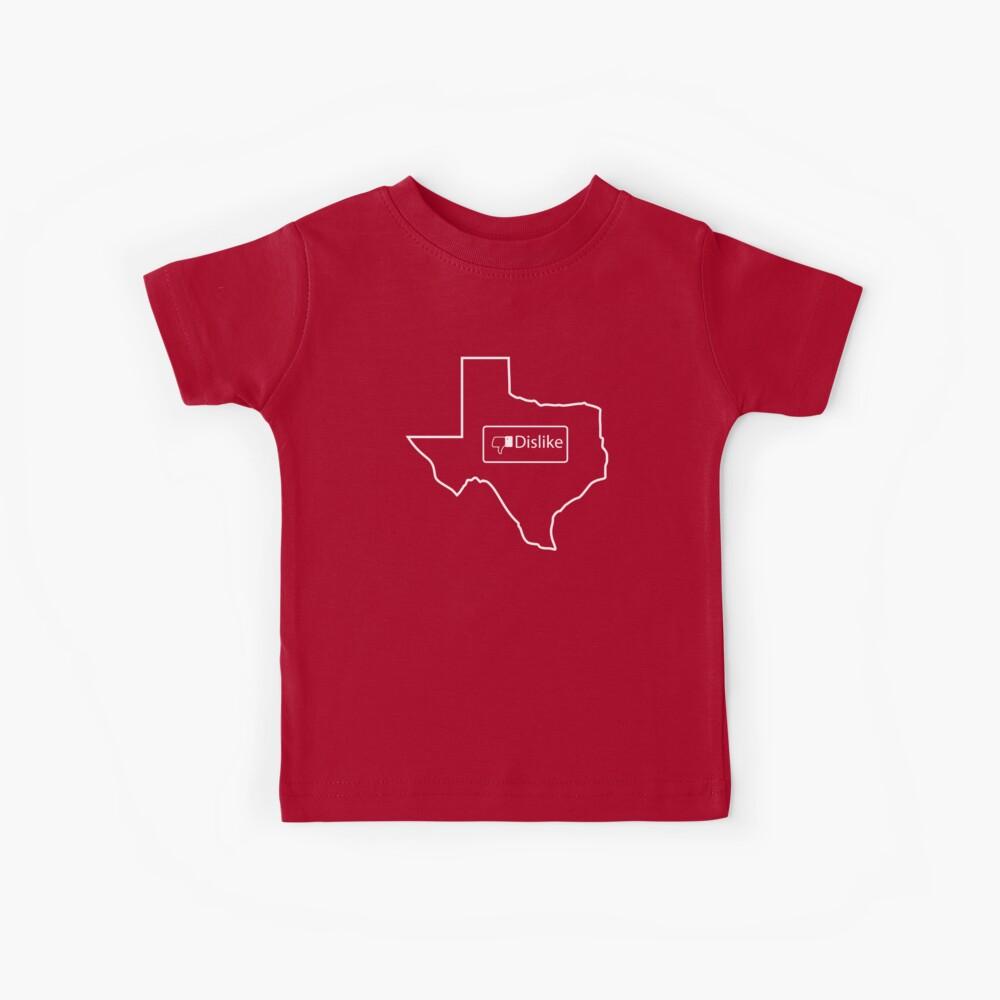 No me gusta Texas Camiseta para niños