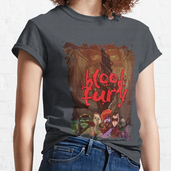 Blood Fury - Distressed Classic T-Shirt