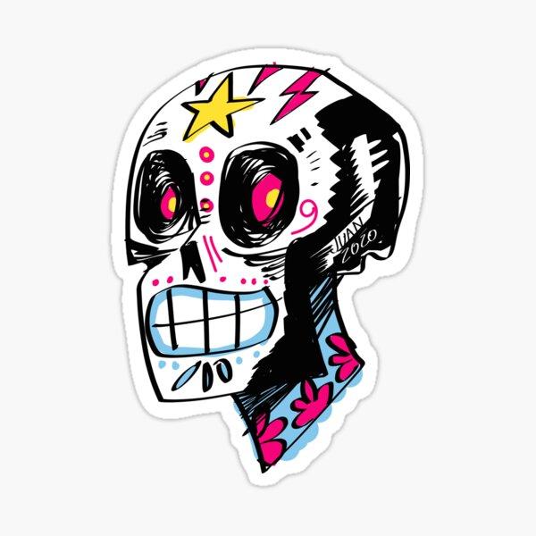 Sugar Skull Pegatina