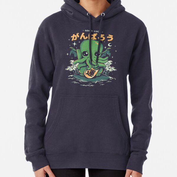 Good Luck Cthulhu Pullover Hoodie