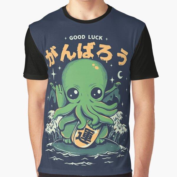 Good Luck Cthulhu Graphic T-Shirt