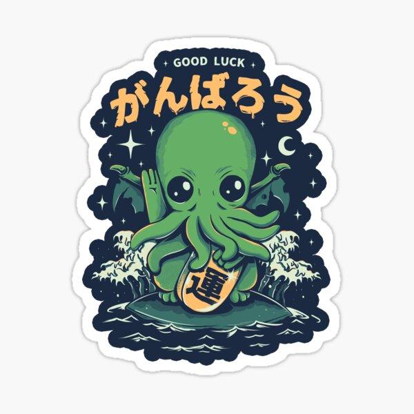 Good Luck Cthulhu Sticker