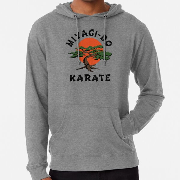 intage Miyagi-Do Karate - Distressed for Vintage Look Lightweight Hoodie