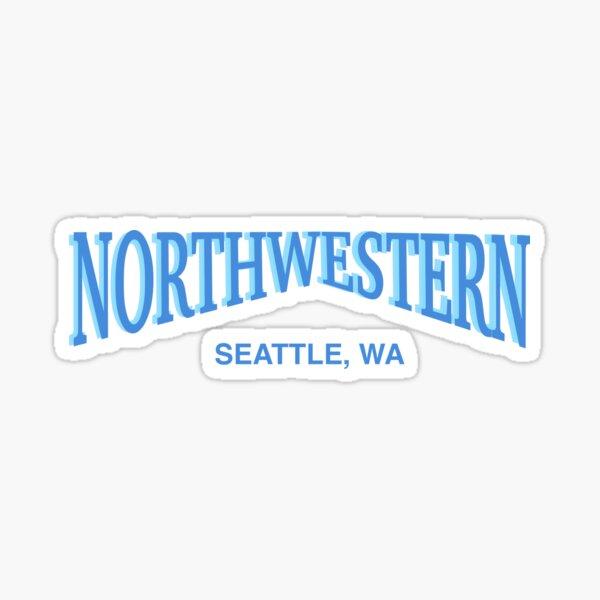 fv northwestern Sticker