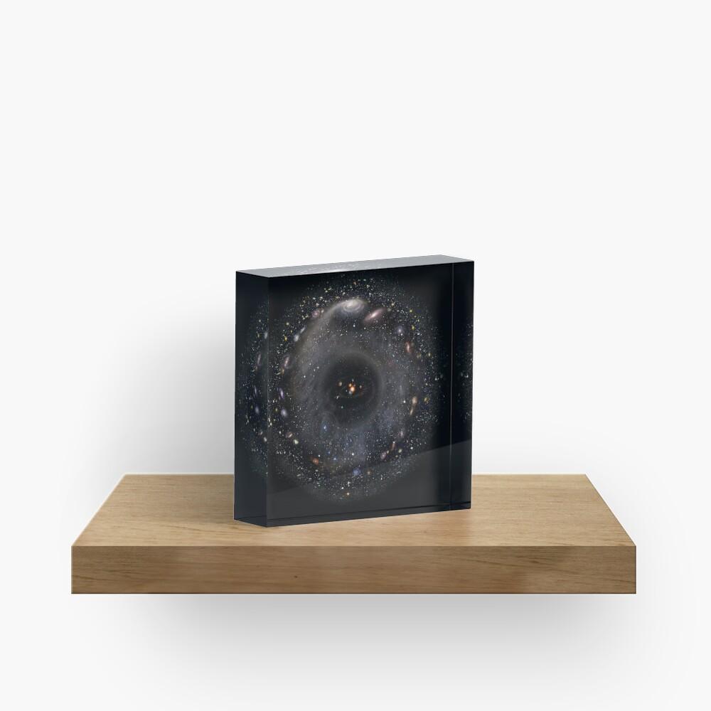 No Borders Universe Acrylic Block