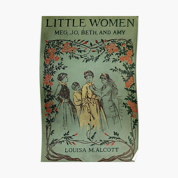 Little Women 1896 Book Cover  Poster