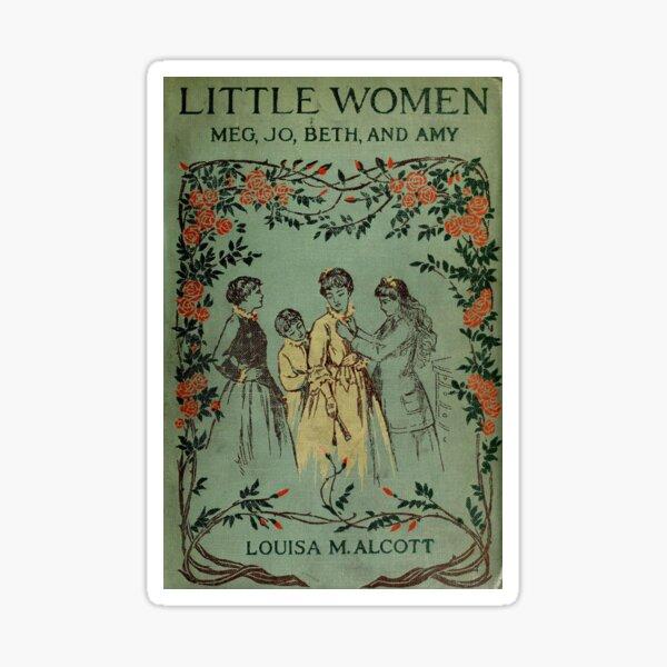 Little Women 1896 Book Cover  Sticker