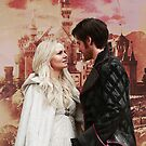 Captain Swan in Camelot Logoless Design 1 by Marianne Paluso