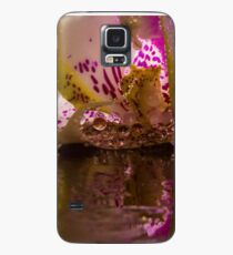 Rainy Orchid Case/Skin for Samsung Galaxy