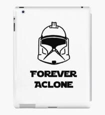 Forever A Clone iPad Case/Skin