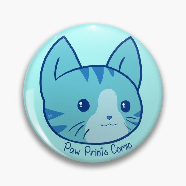 Sweet Kitty (Paw Prints) Pin