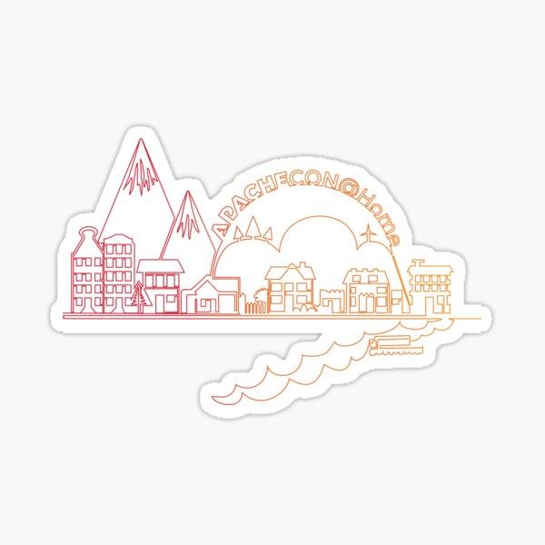 ApacheCon@Home 2020 Sticker