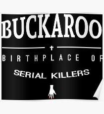 NailBiter - Buckaroo The Birthplace of serial killers Poster