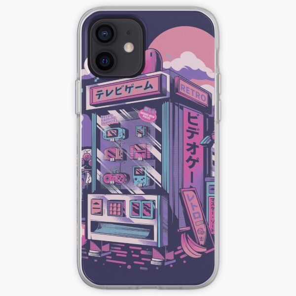 Retro gaming machine iPhone Soft Case